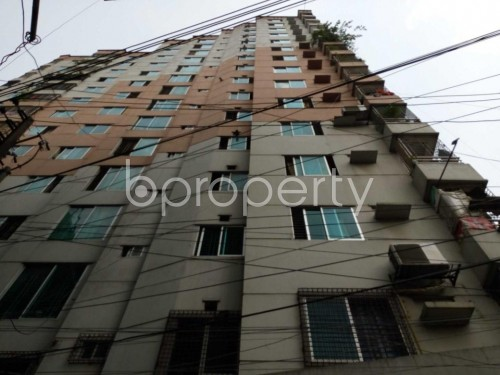 Front view - 3 Bed Apartment for Sale in Sutrapur, Dhaka - 1819551
