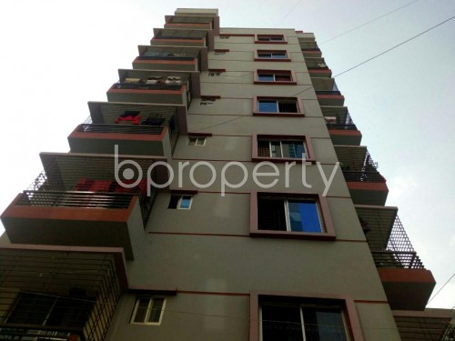 Outside view - 3 Bed Apartment for Sale in Shyamoli, Dhaka - 1819957