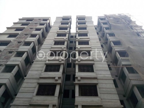 Front view - 3 Bed Apartment for Sale in Lalbagh, Dhaka - 1821184