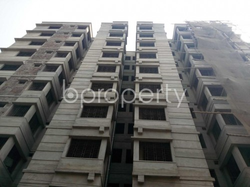 Front view - 3 Bed Apartment for Sale in Lalbagh, Dhaka - 1821191