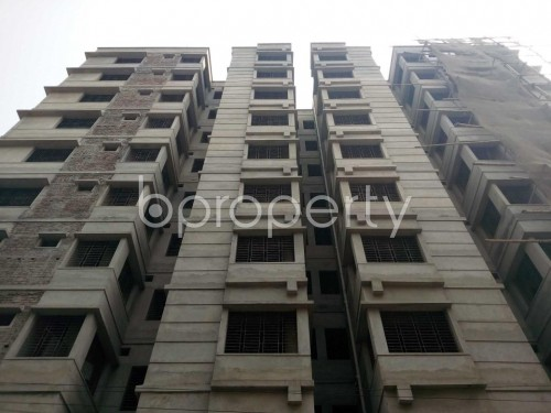 Front view - 3 Bed Apartment for Sale in Lalbagh, Dhaka - 1821206