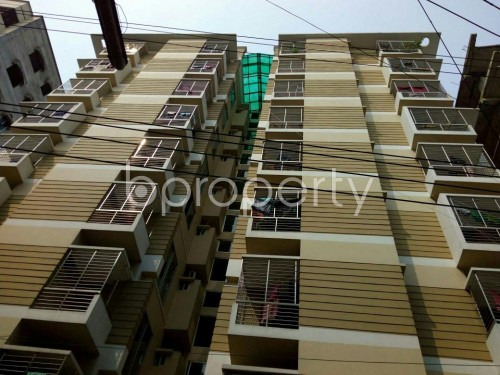 Outside view - 3 Bed Apartment for Sale in Shyamoli, Dhaka - 1821732