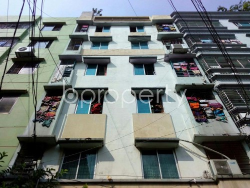 Front view - 2 Bed Apartment for Sale in Lalmatia, Dhaka - 1826178