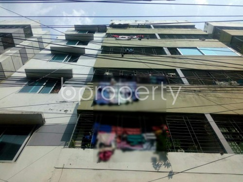 Front view - 2 Bed Apartment for Sale in Tejgaon, Dhaka - 1827077