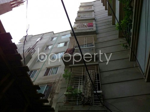 Outside view - 3 Bed Apartment to Rent in North Shahjahanpur, Dhaka - 1827442