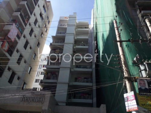 Front view - 3 Bed Apartment for Sale in Sutrapur, Dhaka - 1828942