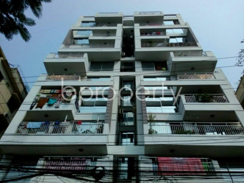 Front view - 3 Bed Apartment for Sale in Shyamoli, Dhaka - 1830312