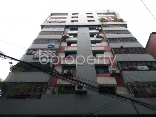 Front view - 4 Bed Apartment for Sale in Sutrapur, Dhaka - 1830689