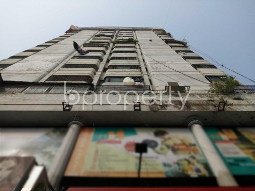 Front view - 3 Bed Apartment for Sale in Maghbazar, Dhaka - 1830907