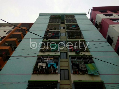 Front view - 2 Bed Apartment for Sale in Cantonment, Dhaka - 1831094