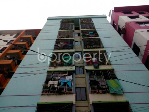 Front view - 2 Bed Apartment for Sale in Cantonment, Dhaka - 1831097