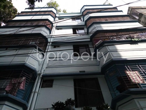 Front view - 3 Bed Apartment to Rent in Kuril , Dhaka - 1832669