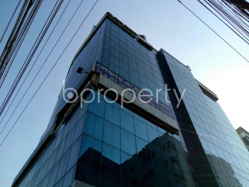 Outside view - Shop for Sale in Lalmatia, Dhaka - 1832736