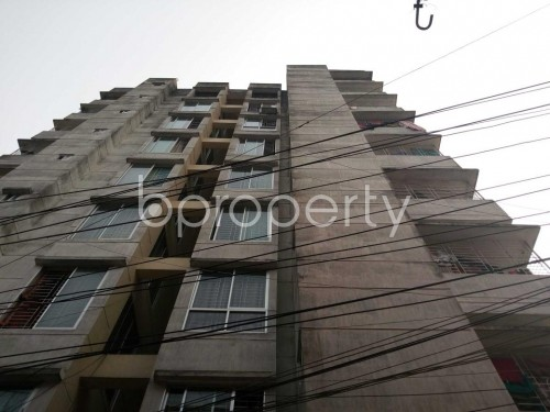 Front view - 3 Bed Apartment for Sale in Bashabo, Dhaka - 1833017