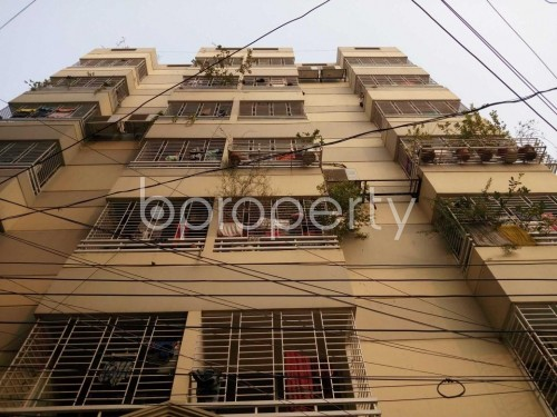 Front view - 3 Bed Apartment for Sale in Maghbazar, Dhaka - 1833221