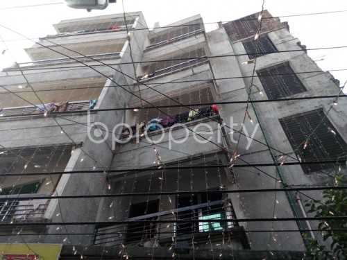 Front view - 2 Bed Apartment to Rent in Kuril , Dhaka - 1833556