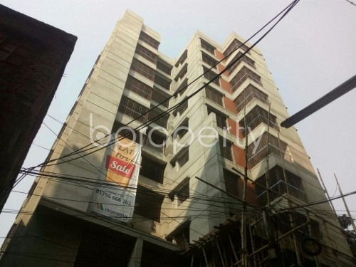 Outside view - Shop for Sale in Malibagh, Dhaka - 1833770