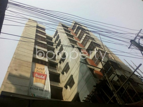 Outside view - Shop for Sale in Malibagh, Dhaka - 1833773