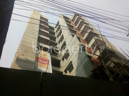 Outside view - Shop for Sale in Malibagh, Dhaka - 1833775