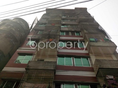 Front view - 3 Bed Apartment for Sale in Lalbagh, Dhaka - 1834005