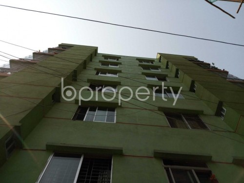 Front view - 2 Bed Apartment for Sale in Maghbazar, Dhaka - 1834162