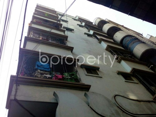 Outside view - 2 Bed Apartment to Rent in North Shahjahanpur, Dhaka - 1834383