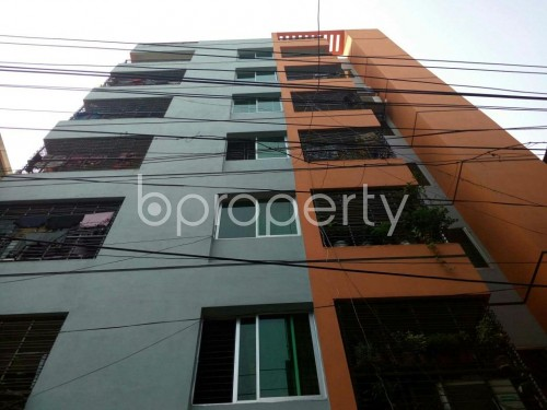 Outside view - 3 Bed Apartment to Rent in North Shahjahanpur, Dhaka - 1834388