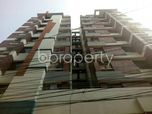 Outside view - 3 Bed Apartment to Rent in North Shahjahanpur, Dhaka - 1834538
