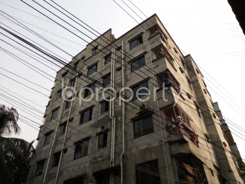 Outside view - 2 Bed Apartment to Rent in Kuril , Dhaka - 1834890