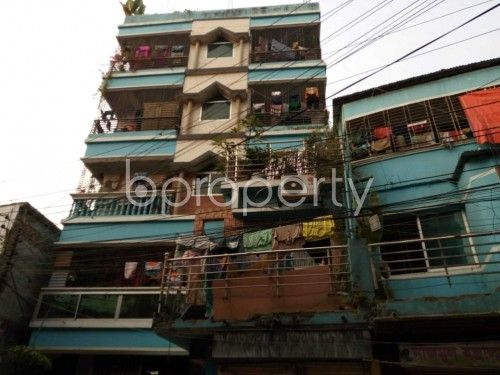 Front view - 2 Bed Apartment to Rent in Kuril , Dhaka - 1834905