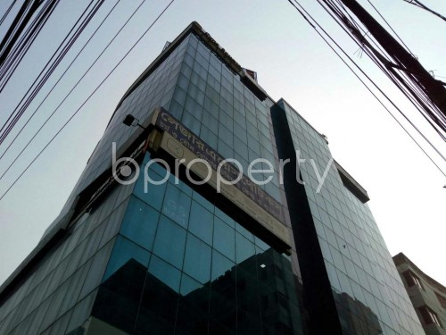 Outside view - Shop for Sale in Lalmatia, Dhaka - 1834999