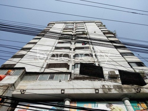Front view - 3 Bed Apartment for Sale in Maghbazar, Dhaka - 1835242