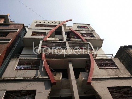 Front view - 2 Bed Apartment for Sale in Bashabo, Dhaka - 1835273