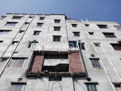 Front view - 3 Bed Apartment for Sale in Bashabo, Dhaka - 1836195
