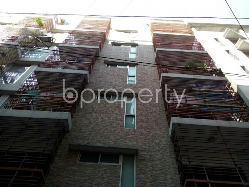 Front view - 3 Bed Apartment for Sale in Shyamoli, Dhaka - 1836456