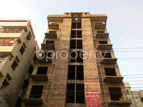 Front view - 3 Bed Apartment for Sale in Uttara, Dhaka - 1836592