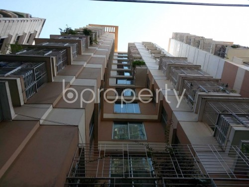 Front view - 3 Bed Apartment for Sale in Maghbazar, Dhaka - 1836619