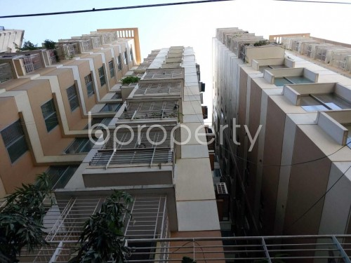 Front view - 3 Bed Apartment for Sale in Maghbazar, Dhaka - 1836620