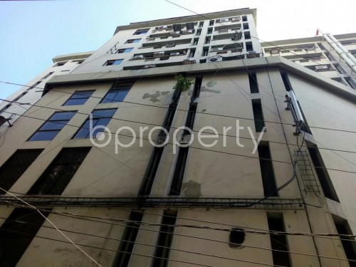 Outside view - Office for Sale in Hatirpool, Dhaka - 1836858