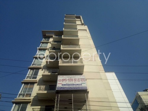 Front view - 3 Bed Apartment for Sale in Baridhara, Dhaka - 1837130