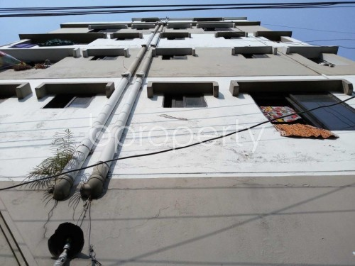 Front view - 1 Bed Apartment to Rent in Nadda, Dhaka - 1837711