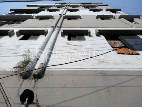 Front view - 3 Bed Apartment to Rent in Nadda, Dhaka - 1837714