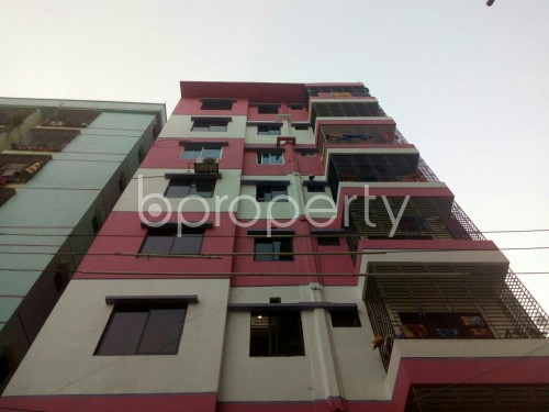 Front view - 3 Bed Apartment for Sale in Cantonment, Dhaka - 1837897
