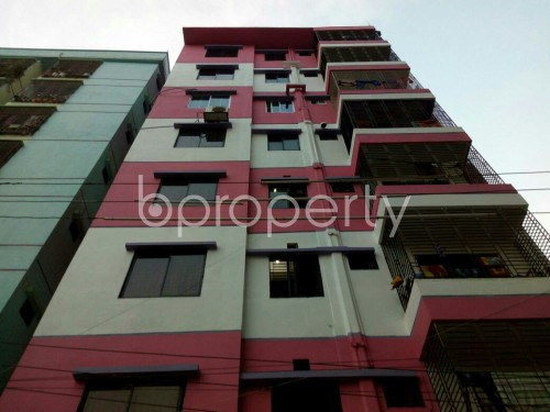 Front view - 3 Bed Apartment for Sale in Cantonment, Dhaka - 1837899