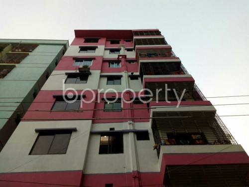 Front view - 3 Bed Apartment for Sale in Cantonment, Dhaka - 1837901