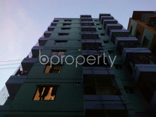 Front view - 2 Bed Apartment for Sale in Cantonment, Dhaka - 1837910