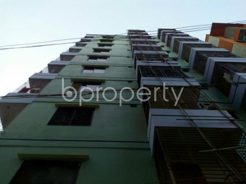 Front view - 2 Bed Apartment for Sale in Cantonment, Dhaka - 1837914