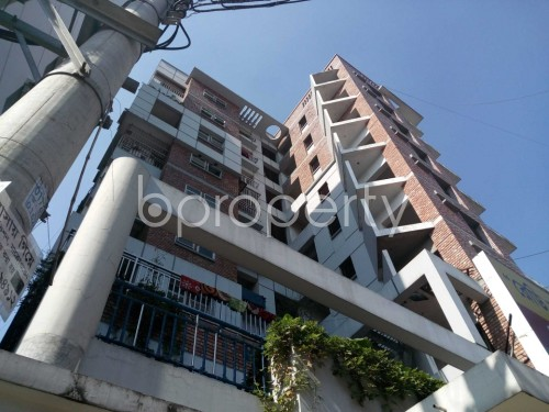 Outside view - 3 Bed Apartment for Sale in Maghbazar, Dhaka - 1840537