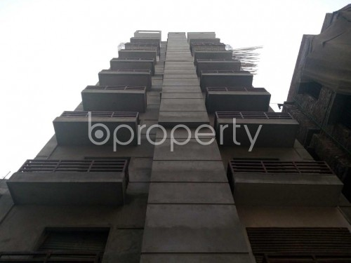 Front view - 3 Bed Apartment for Sale in Bashabo, Dhaka - 1841375