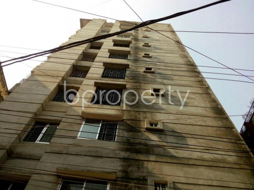 Front view - 3 Bed Apartment for Sale in Shyamoli, Dhaka - 1841622